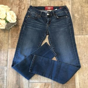 Lucky Brand Charlie Skinny Jeans Women's Sz 00/24